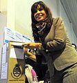 Cristina vota 2009.jpg