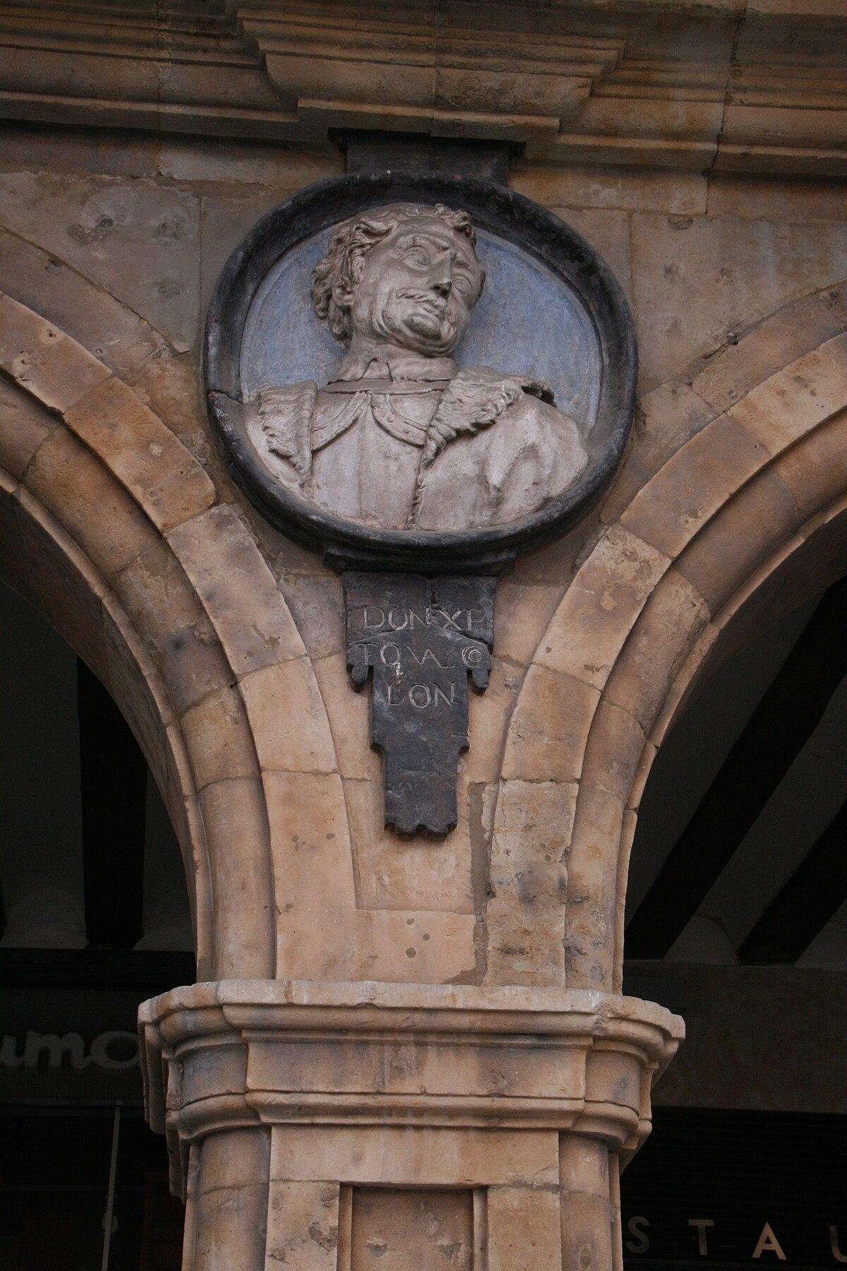 Cristobal Colón-Plaza Mayor de Salamanca.jpg