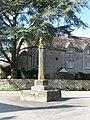 Cross in the middle of Poole Keynes - geograph.org.uk - 1747520.jpg