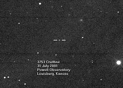 Asteroid 3753 Cruithne