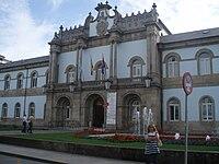 Cuerpo central del edificio de la Diputación Provincial de Lugo. (España).JPG