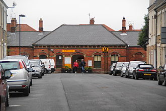 Cullercoats Metro station - The original 1882 North Eastern Railway exterior pictured in 2012