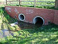 Culverted stream under Heron Drive - geograph.org.uk - 362854.jpg