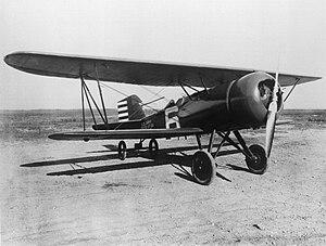 NACA cowling - Curtiss AT-5A Hawk with NACA cowling at the Langley Memorial Aeronautical Laboratory, October 1928.