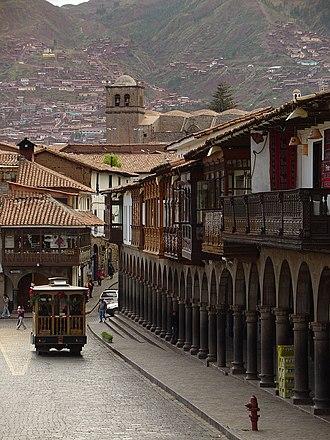 Cusco Region - Image: Cuzco Décembre 2007 Balcons