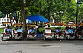 Cycle rickshaws in Hanoi, 3 March 2019.jpg