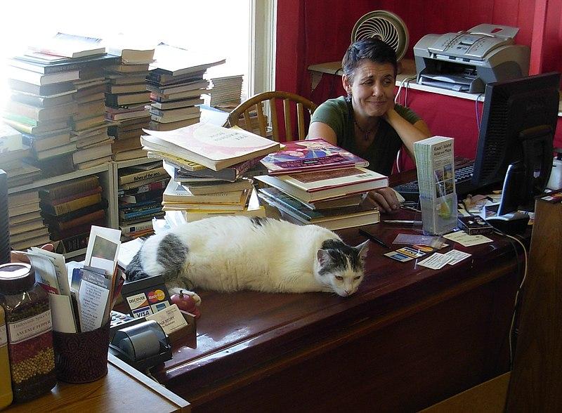 File:Cynthia and Cat - Talk Story Bookstore.jpg