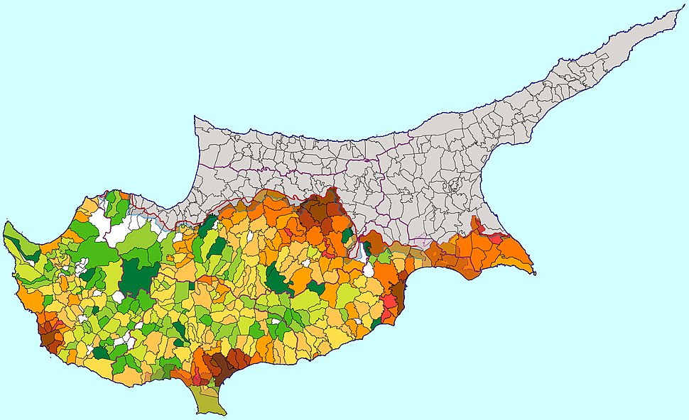 Cyprus density