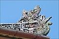 Décor de la toiture du pavillon de lecture (Cité impériale, Hué) (4381214309).jpg