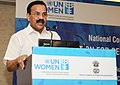 D.V. Sadananda Gowda addressing at the inauguration of the National Consultation on Data Generation for Gender Indicators of Sustainable Development Goals (SDGs), in New Delhi.jpg