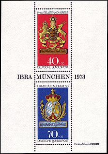 Briefmarken Jahrgang 1973 Der Deutschen Bundespost Wikipedia