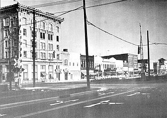 Rocky Mount, North Carolina - Downtown Rocky Mount, 1962