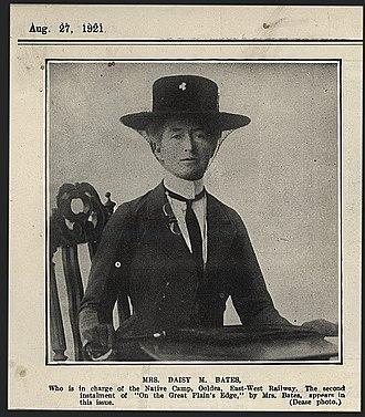 Breaker Morant - Daisy Bates in 1921