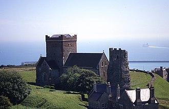 History of Dover - Church of St Mary del Castro