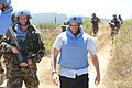 Damien Duff and his brother Sergeant Gerry Duff visit the troops of the Irish 106 Battalion in Tibnine Lebanon (7514416450).jpg