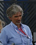 Photo en buste de Damon Hill