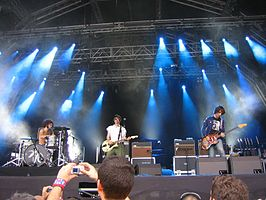 The Dandy Warhols op het Summercase festival in 2006.