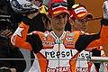 Dani Pedrosa and Casey Stoner 2011 Aragón.jpg