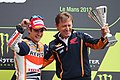 Dani Pedrosa and Mike Leitner 2013 Le Mans 2.jpg