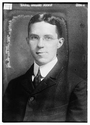 Daniel Gregory Mason