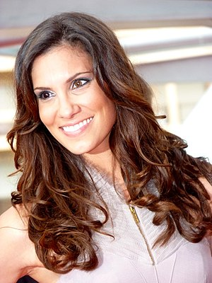 Daniela Ruah - Ruah at the 2012 Monte-Carlo Television Festival
