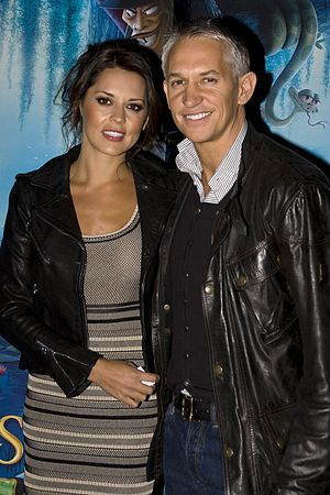 Gary Lineker - Lineker with ex-wife Danielle in 2010