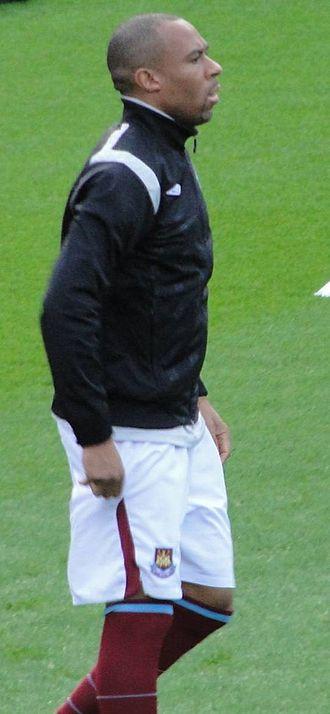 Danny Gabbidon - Gabbidon at West Ham United in November 2009