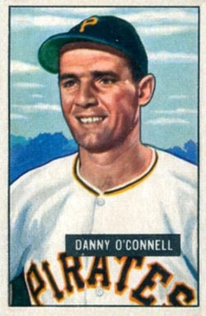 Danny O'Connell - Image: Danny O Connell 1951Bowman