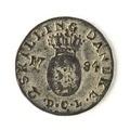 Dansk tvåskilling, 1784 - Skoklosters slott - 109409.tif
