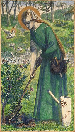 Dante Gabriel Rossetti - Mary Nazarene