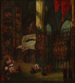David Roberts, attributed to - Interior from Toledo Cathedral - 1853.png