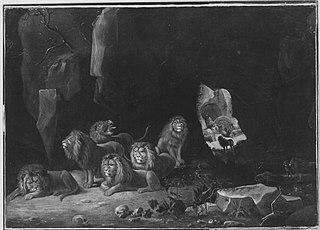 Daniel in der Löwengrube (Kopie nach)