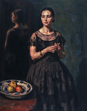 Jean Baptiste Leopold Colin - La Dame en Noir