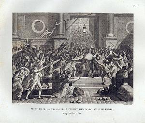À la lanterne - Image: Death of de Flesselles