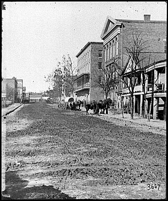 Decatur Street (Atlanta) - Image: Decatur Street Atlanta 1864