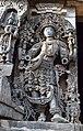 Decorated Dvarapala Hoysaleswara Temple Halebid.jpg