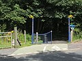 Decorative gateposts on NCN route 7 - geograph.org.uk - 1423426.jpg
