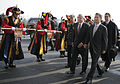 Defense.gov News Photo 110114-F-6655M-011 - Secretary of Defense Robert M. Gates is escorted by Korean National Defense Minister Kim Kwan-jin after arriving in Seoul Republic of Korea on.jpg