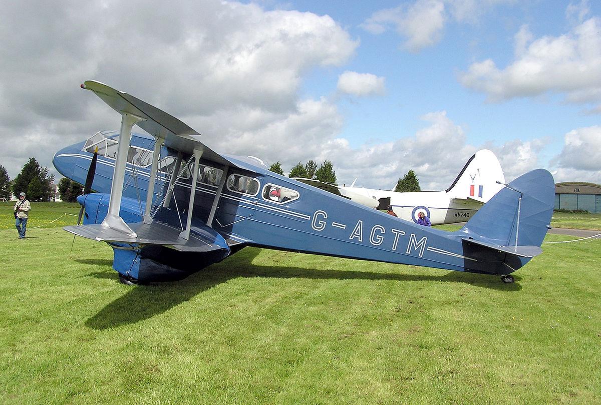 De Havilland Dh 89 Dragon Rapide Wikipedia