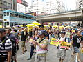 Demonstration for The Citizens Against Pseudo-universal Suffrage Campaign.JPG