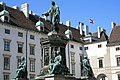 Denkmal Kaiser Franz I von Österreich - Wiener Hofburg.jpg