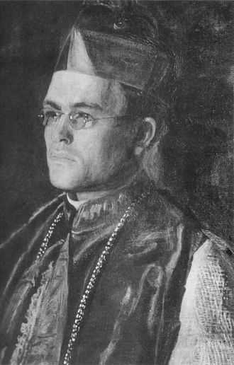 St. Vincent Ferrer Seminary - Right Reverend Dennis J. Dougherty (1903) by Thomas Eakins, private collection.