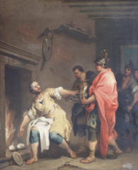 Marcus Curius Dentatus refuses the gifts of the Samnites