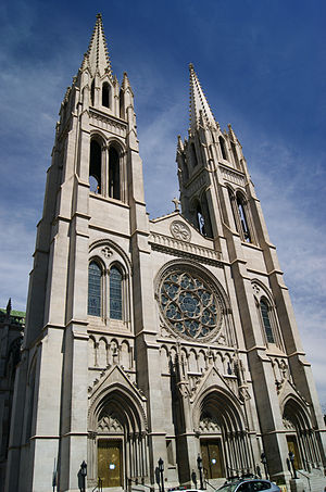 Cathedral Basilica of the Immaculate Conception (Denver) - Image: Denver, Church of the Immaculate Conception