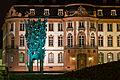 Der Mainzer Fastnachtsbrunnen vor dem Osteiner Hof bei Nacht.jpg