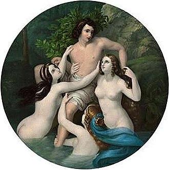 Karl Ferdinand Sohn - Image: Der Raub Des Hylas Carl Ferdinand Sohn (1830)