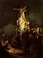 Descent from the Cross by Rembrandt's workshop (1634, Hermitage).jpg