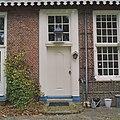 Detail achtergevel- ingangsdeur met lantaarn boven de deur - Glimmen - 20380175 - RCE.jpg