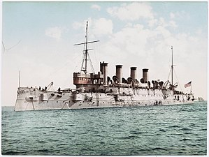 USS Columbia (C-12) - USS Columbia