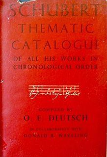 <i>Schubert Thematic Catalogue</i>